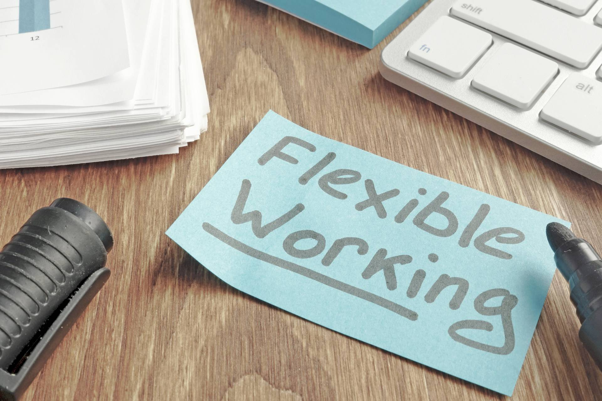 Flexible working to improve productivity
